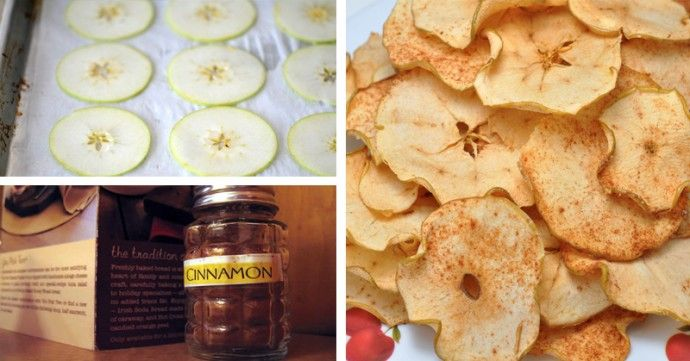 Cinnamon Apple Chip Recipe for Your Heart, Brain, Blood Sugar and Waistline