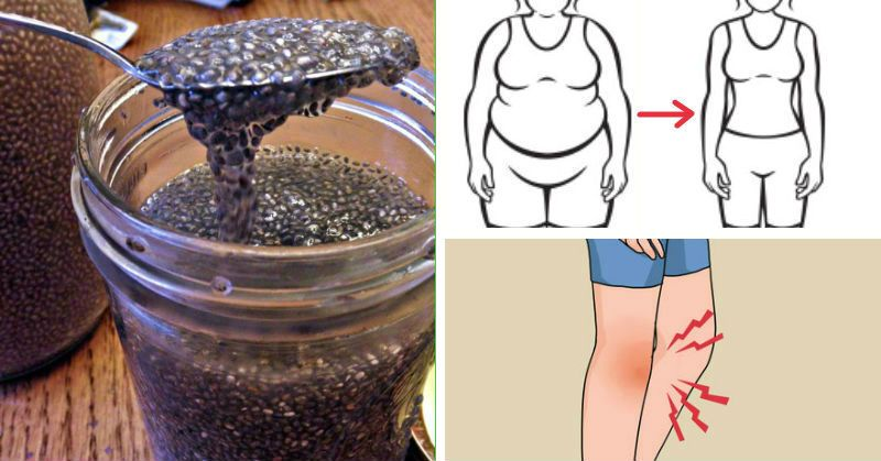 Soak Chia Seeds To Supercharge Their Metabolism, Weight Loss and Inflammation-Fighting Like Never Before