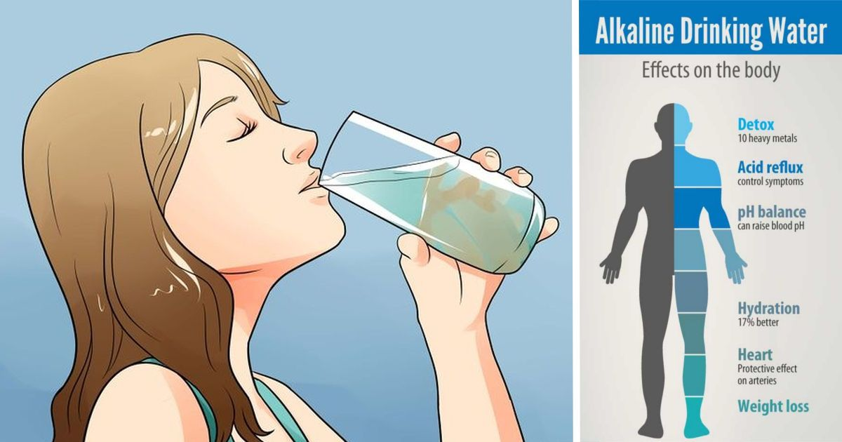Drink This Alkaline Water to Fight Digestive Problems, Muscle Cramps, Fatigue, and Even Cancer!