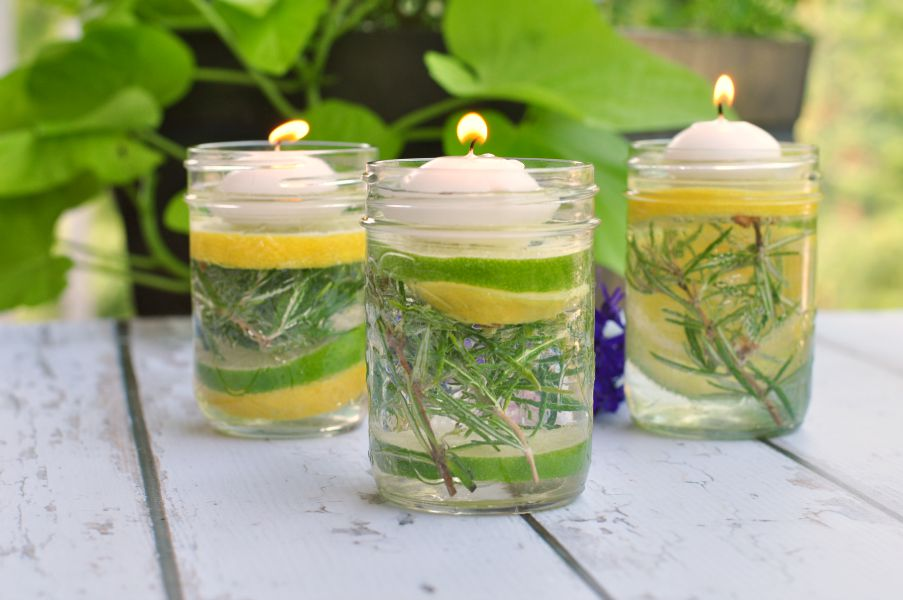 Put These Bug-Repelling Mason Jars Outside and You Might Not See a Mosquito All Summer Long
