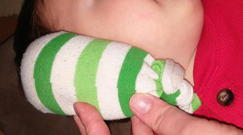 How to Heat Up a Sock with Himalayan Salt and Lavender to Treat Earache and Infection