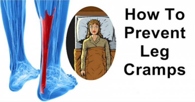 The Reason Why The Leg Cramps During The Night And How To Stop This Forever