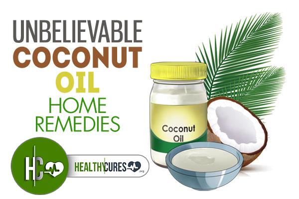 10 Unbelievable Coconut Oil Home Remedies