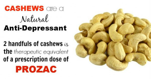 Cashew Nutrition Absolute the Best Treatment for Depression without Medication